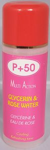 P+50 multi Action Glycerin & Rosewater