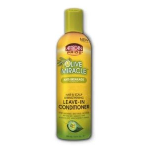 AFRICAN PRIDE OLIVE MIRACLE Leave-In Conditioner 12floz