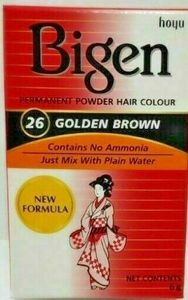 bigen 26 golden brown