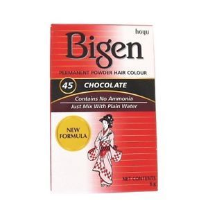 bigen 45 chocolate