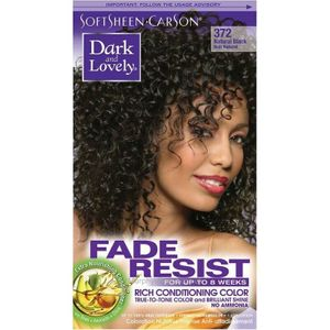 DARK AND LOVELY FADE RESIST 372 NATURAL BLACK