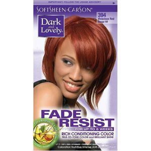 DARK AND LOVELY FADE RESIST 394 VIVACIOUS RED