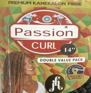 """Jazzy Hair Passion Curl 14"""""""